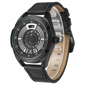 Weide Jam Tangan Analog Pria - UV1701 - Black/Black - 2