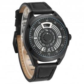Weide Jam Tangan Analog Pria - UV1701 - Black/Black - 3