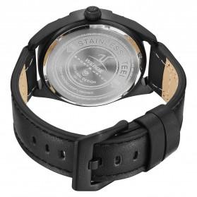 Weide Jam Tangan Analog Pria - UV1701 - Black/Black - 5
