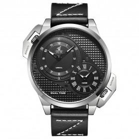 Weide Jam Tangan Analog Pria - UV1706 - Black/Silver