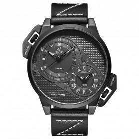 Weide Jam Tangan Analog Pria - UV1706 - Black/Black