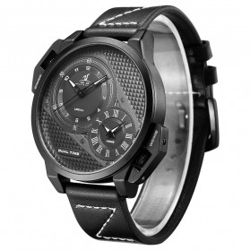 Weide Jam Tangan Analog Pria - UV1706 - Black/Black - 2