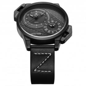 Weide Jam Tangan Analog Pria - UV1706 - Black/Black - 5