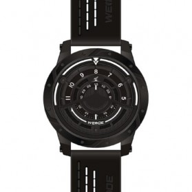 Weide Jam Tangan Analog Pria - UV1708 - Black/Black