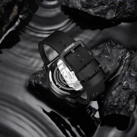 Weide Jam Tangan Analog Pria - UV1708 - Black/Black - 5