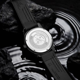 Weide Jam Tangan Analog Pria - UV1708 - Black/Black - 6