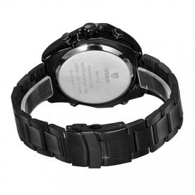 Weide Jam Tangan Analog Digital Pria - WH1102 - Black/Black - 5