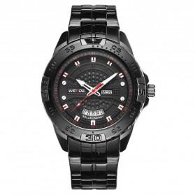 Weide Jam Tangan Analog Pria - SE0706 - Black/Black