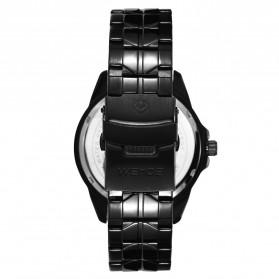 Weide Jam Tangan Analog Pria - SE0706 - Black/Black - 5
