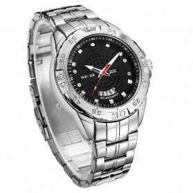 Weide Jam Tangan Analog Pria - SE0706 - Silver Black - 2