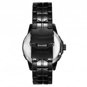 Weide Jam Tangan Analog Pria - SE0707 - Black/Black - 5