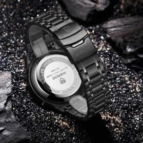 Weide Jam Tangan Digital Analog Pria - WH6906 - Black/Black - 3