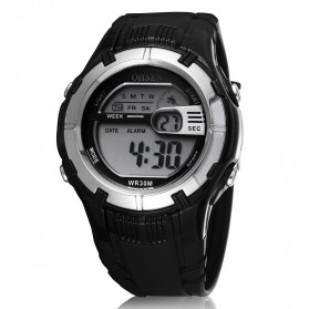 Ohsen Waterproof Digital Sport Watch - AD0922 - Black