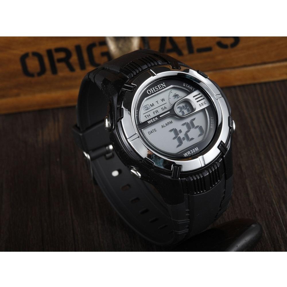 ... Ohsen Waterproof Digital Sport Watch - AD0922 - Black - 3 ... b212ffc226