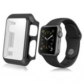 HOCO Protective PC Case for Apple Watch 42mm Series 1/2/3 - Black