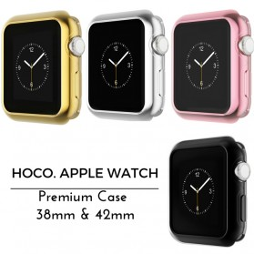 HOCO Protective PC Case for Apple Watch 42mm Series 1/2/3 - Golden - 4
