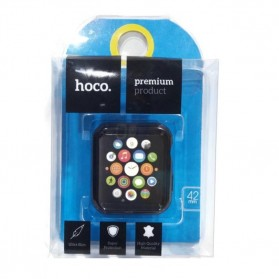 HOCO Protective TPU Case for Apple Watch 42mm Series 1/2/3 - Black - 3