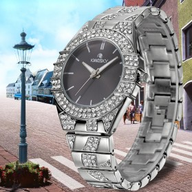 KINGSKY Fashion Quartz Stainless Strap Women Watch 30M Water Resistance - KY101-4 - Silver - 4