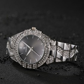 KINGSKY Fashion Quartz Stainless Strap Women Watch 30M Water Resistance - KY101-4 - Silver - 5