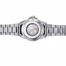 Ouyawei Luxury Men Stainless Steel Automatic Mechanical Watch - OYW1331 - White/Silver - 6