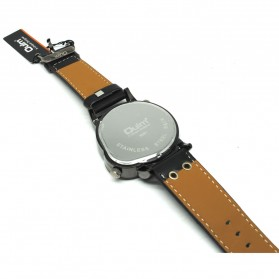 Oulm Quartz Men Leather Band Fashion Watch - 9591 - Black - 3