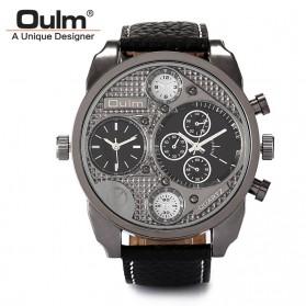 Oulm Jam Tangan Analog - 9316 - Silver