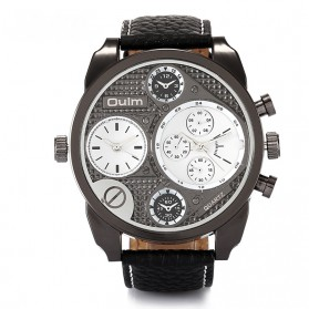 Oulm Jam Tangan Analog - 9316 - Black White