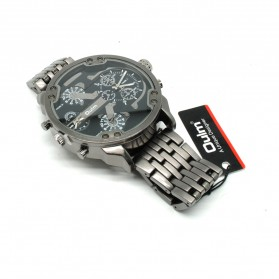 Oulm Jam Tangan Analog Stainless Steel Strap- 3548 - Black