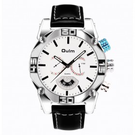 Oulm Jam Tangan Analog - HP3694 - White