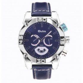 Oulm Jam Tangan Analog - HP3694 - Blue