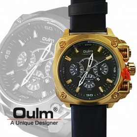 Oulm Jam Tangan Analog - HP3705 - Black