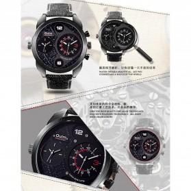 Oulm Jam Tangan Analog - HP9316 - Black/Black - 5
