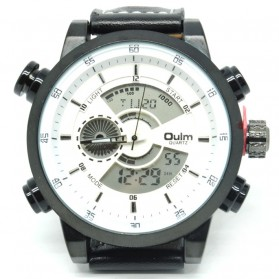 Oulm Jam Tangan Analog - HP3558 - White