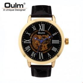Oulm Jam Tangan Analog - HP3688 - Black/Black