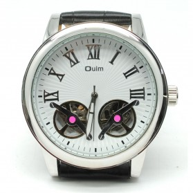 Oulm Jam Tangan Mechanical - HP3686 - White/Black