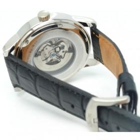 Oulm Jam Tangan Mechanical - HP3686 - Black/Black - 2