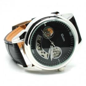 Oulm Jam Tangan Mekanikal - HP3711 - Black