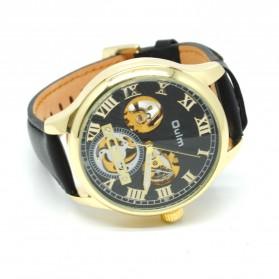 Oulm Jam Tangan Mekanikal - HP3621 - Black Gold