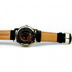 Oulm Jam Tangan Analog - HP3682 - Black Gold - 2