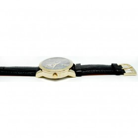 Oulm Jam Tangan Analog - HP3682 - Black Gold - 3