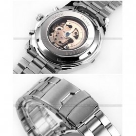 ESS Jam Tangan Mechanical - WM257 - Silver Black - 4