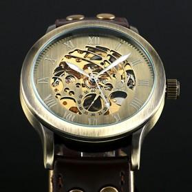 ESS Jam Tangan Mechanical - WM411 - Black Gold - 4