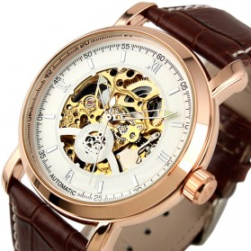 ESS Jam Tangan Mechanical - WM310 - Brown