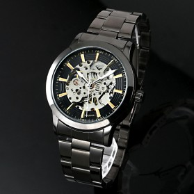 ESS Jam Tangan Mechanical - WM414 - Silver Black - 4