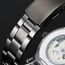 ESS Jam Tangan Mechanical - WM414 - Silver Black - 6