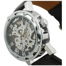 ESS Jam Tangan Mechanical - WM125 - Black/Silver - 3