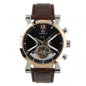 ESS Jam Tangan Mechanical - WM355 - Brown/Gold