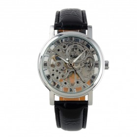 ESS Jam Tangan Mechanical - WM119 - Silver Black