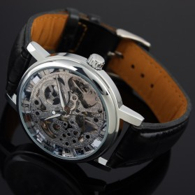 ESS Jam Tangan Mechanical - WM119 - Silver Black - 4