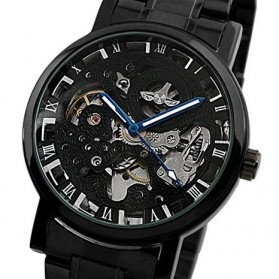 ESS Jam Tangan Mechanical  - WM282 - Black - 2